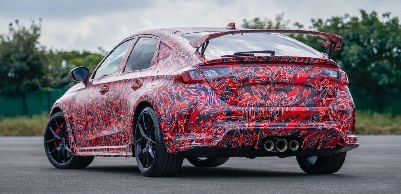 Honda desvela las primeras fotos del próximo Civic Type-R 2022