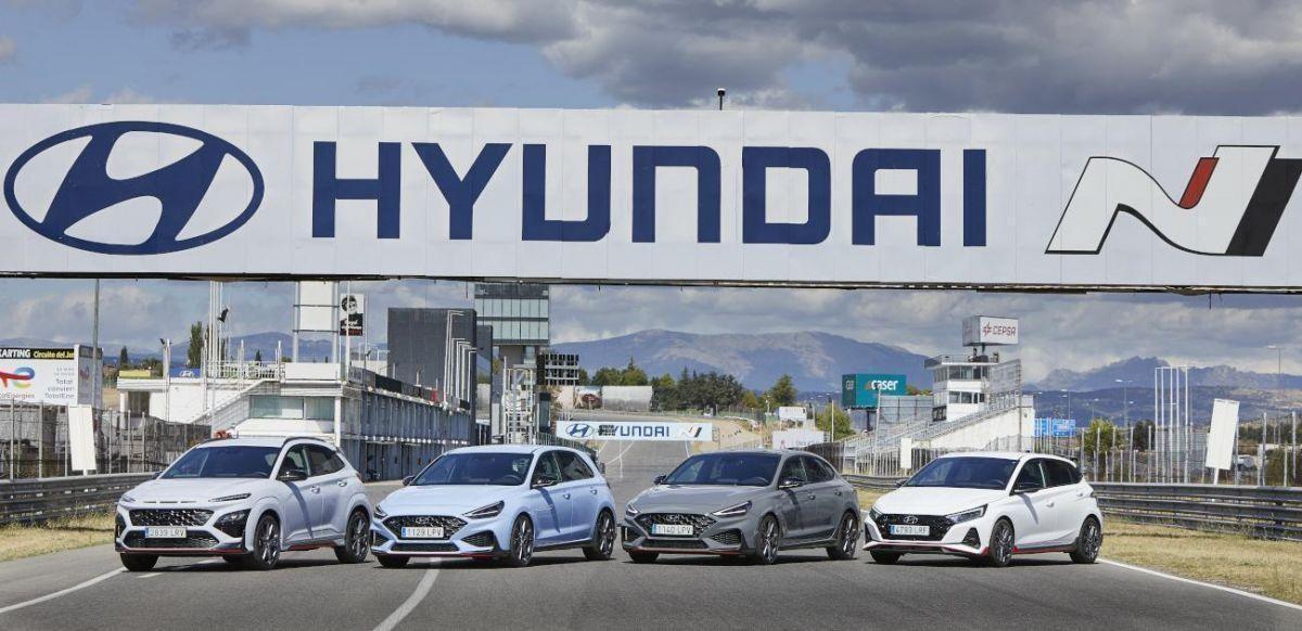 Probamos la nueva gama Hyundai N en el circuito del Jarama
