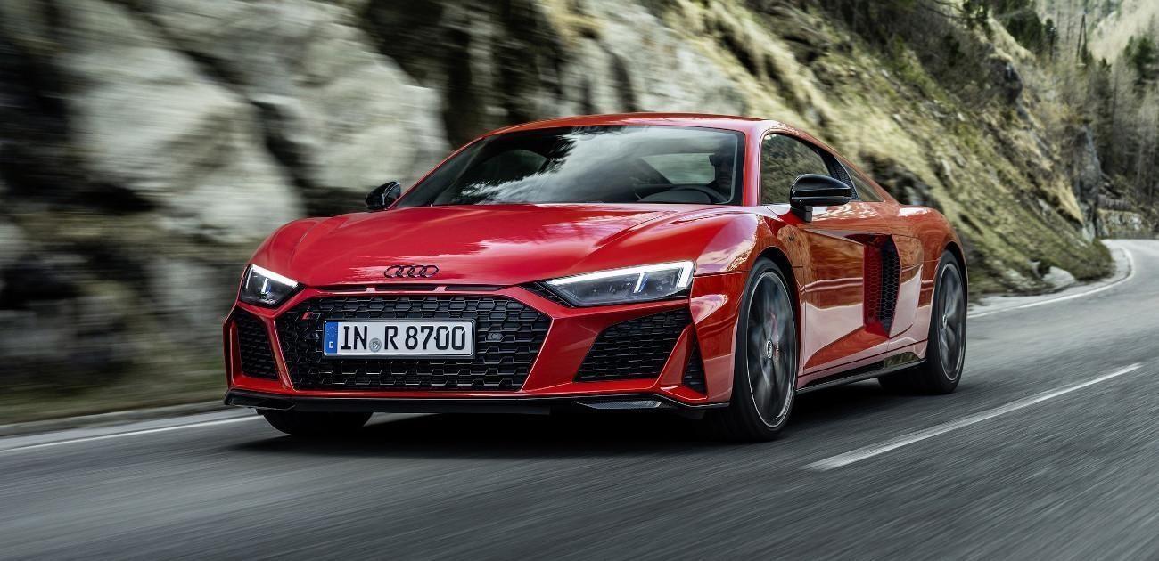 Audi inyecta 30 CV extra al R8 RWD de tracción trasera