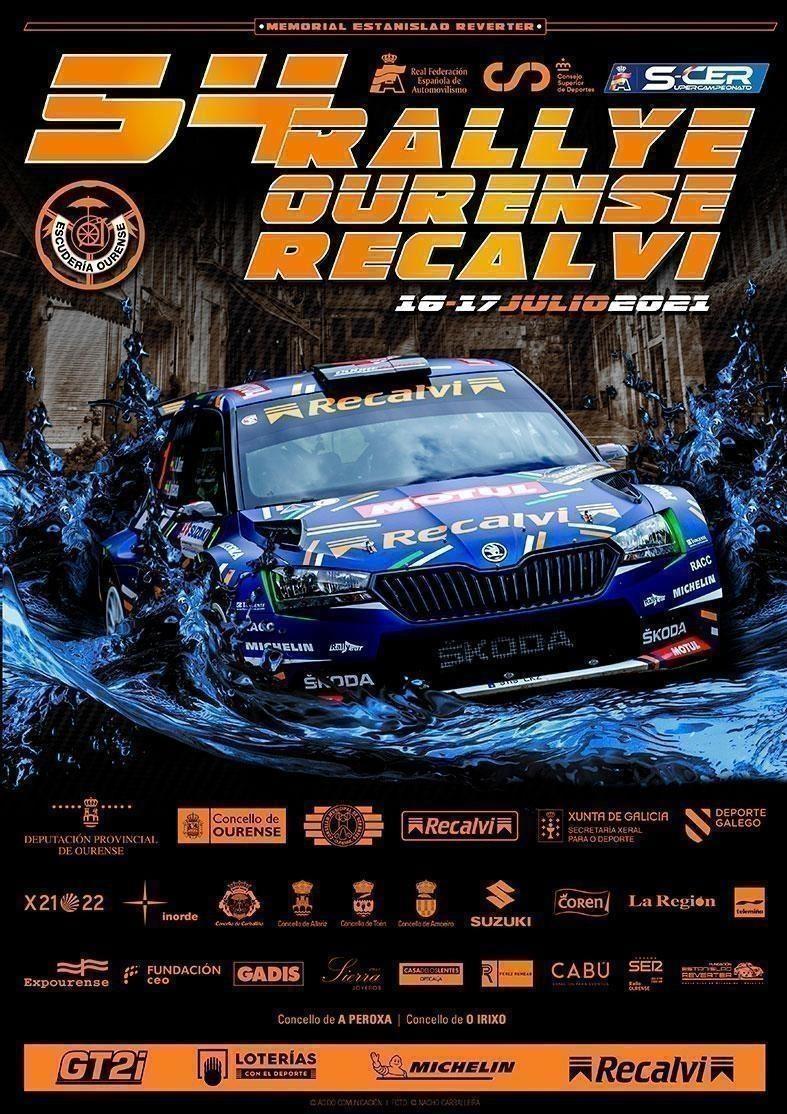 Este sábado disfruta del Rallye Ourense Recalvi en streaming