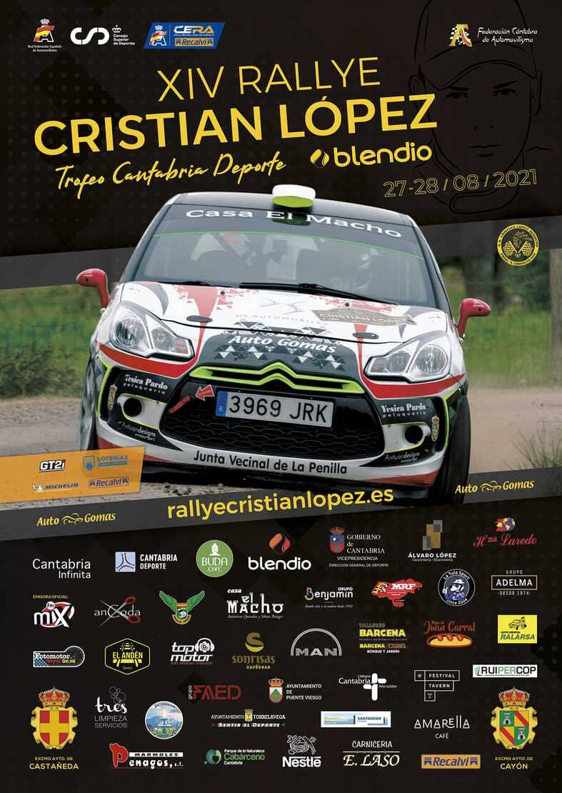 XIV Rallye Blendio Cristian López 2021