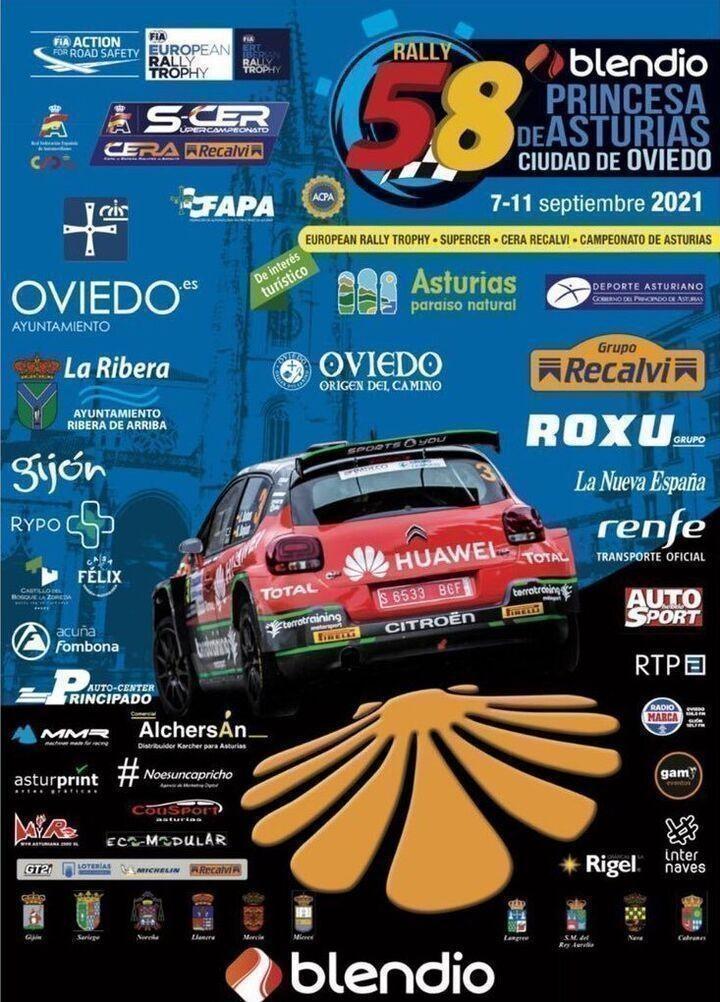 Rallye Blendio Princesa de Asturias 2021
