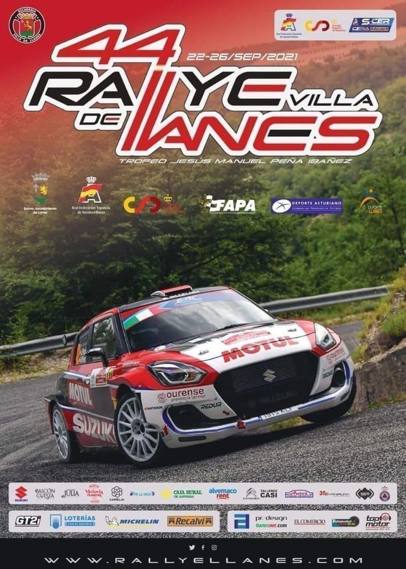 44 edición Rallye Villa de Llanes 2021