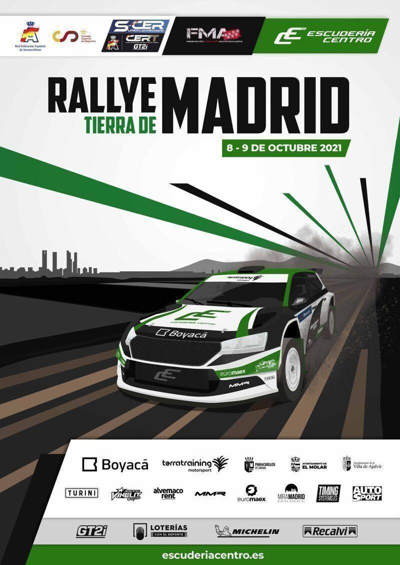 Rallye Tierra de Madrid SCER 2021